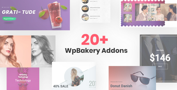 20+ WpBakery Addons