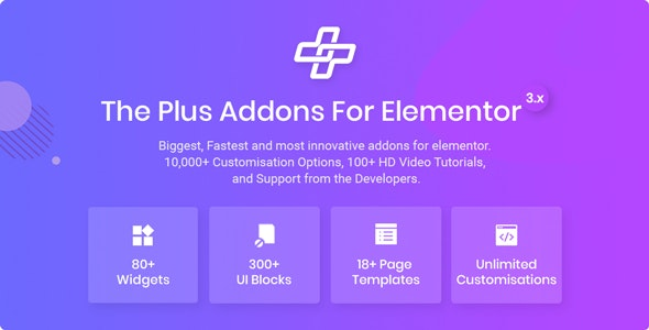 The Plus Addons – Elementor