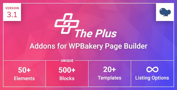 The Plus Addons – WP Bakery