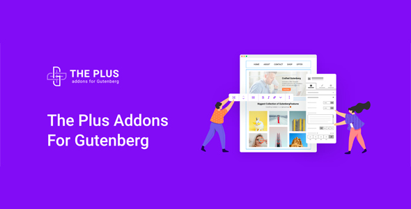 The Plus Addon For Gutenberg